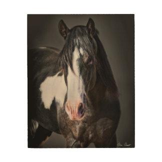 Horse Portrait II Wood Wall Art