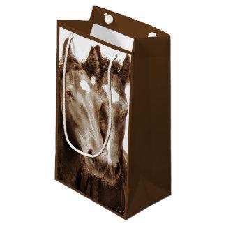 Horse Portrait III Small Gift Bag