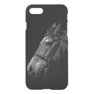 Horse Portrait on Black - Uncommon iPhone 7 Case