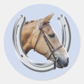 Horse portrait sticker