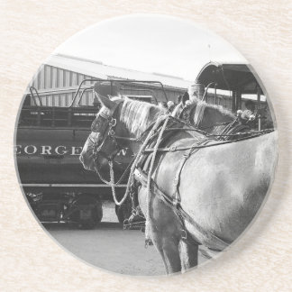 Horse Power and Steam Power Drink Coasters