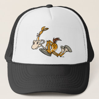 Horse Power cartoon trucker hat