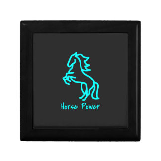 Horse Power in Blue Gift Box