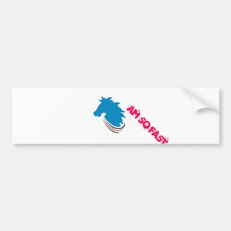 Horse Power Logo Bumper Design Bumper Sticker