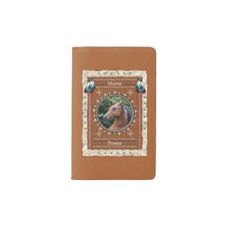 Horse  -Power- Notebook Moleskin Cover