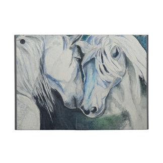Horse Powis iCase iPad Mini case, Blue Covers For iPad Mini