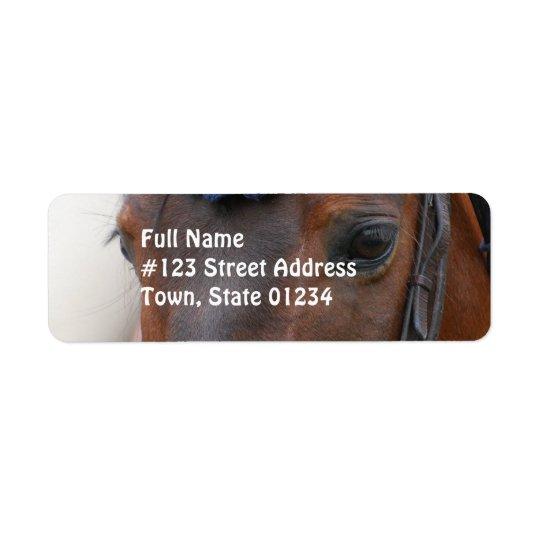 Horse Profile Mailing Label Return Address Label