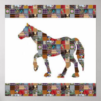 HORSE Race Gamble Artistic LOWprice NVN514 Casino Print