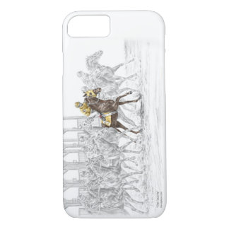 Horse Race Starting Gate iPhone 8/7 Case