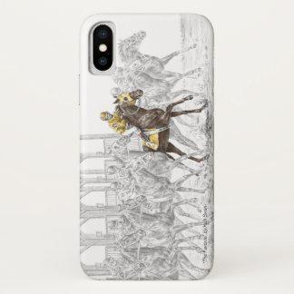 Horse Race Starting Gate iPhone X Case