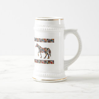HORSE RaceClub Gamble Polo Striker  GIFTS Beer Stein