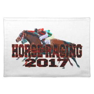 horse racing 2017 placemat