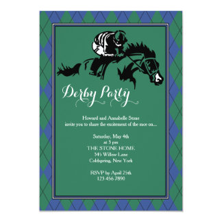 Horse Racing Argyle Invitation