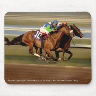 Horse Racing - Bar-bar-o Mouse Pad