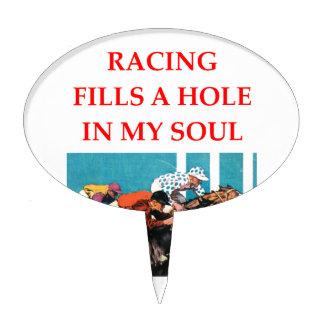horse racing cake picks