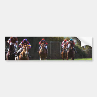 Horse Racing Field Bumper Stickers