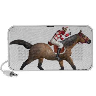 Horse Racing Jockey and Horse iPhone Speaker