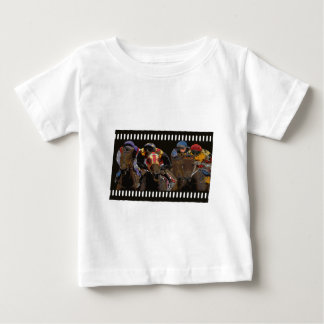 Horse Racing on Film Strip Baby T-Shirt