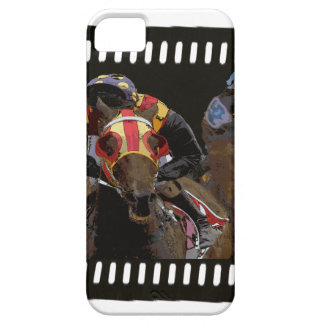 Horse Racing on Film Strip Barely There iPhone 5 Case