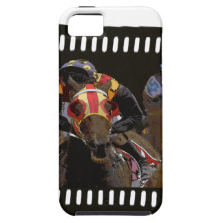 Horse Racing on Film Strip iPhone 5 Cases