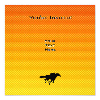 Horse Racing Personalized Invitation