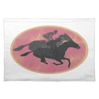 Horse Racing Placemat