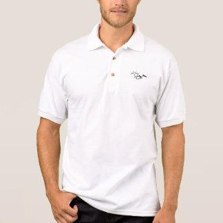 Horse racing polo shirt