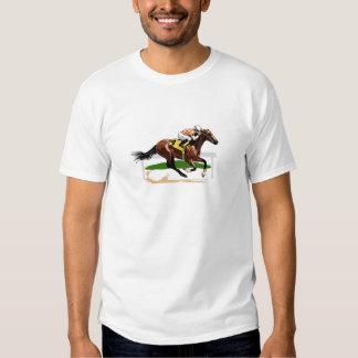Horse Racing Scene Tshirts