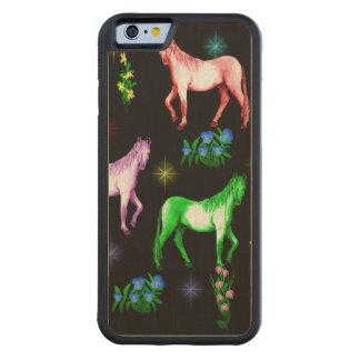 Horse Rainbow Maple iPhone 6 Bumper Case