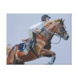 Horse & Rider Canvas Art