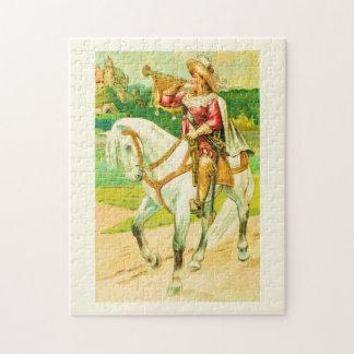 Horse rider jigsaw puzzle