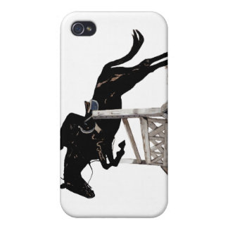 Horse & Rider Jumping 4/4S  iPhone 4 Covers
