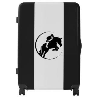 Horse Rider Large Sized Luggage Suitcase