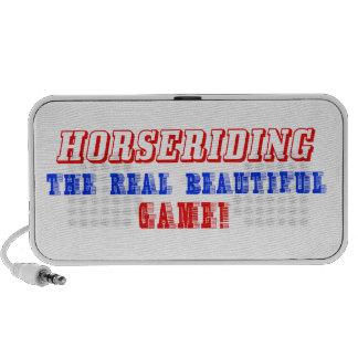 Horse Riding design Portable Speaker