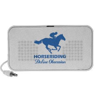 horse-riding design mp3 speakers