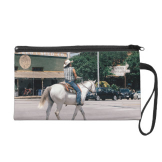 Horse Riding on South Congress Ave Wristlet