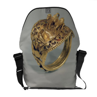 Horse ring (gold and cornelian) commuter bag