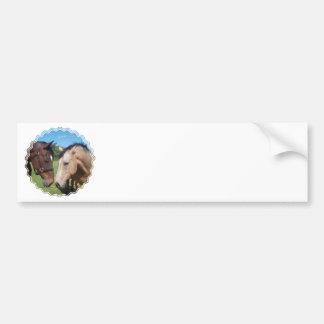 Horse Romance Bumper Sticker