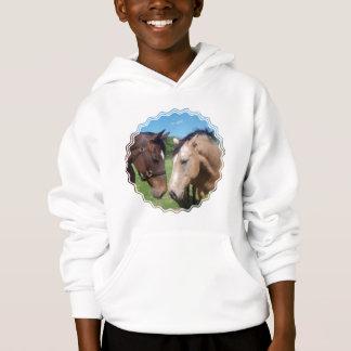 Horse Romance Kid's Sweatshirt