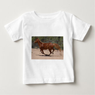 Horse running baby T-Shirt