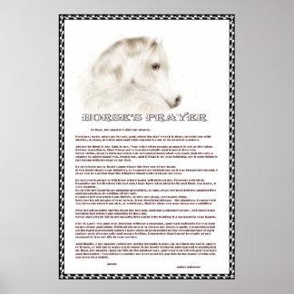 Horse s Prayer Print
