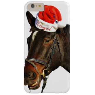 Horse santa - christmas horse - merry christmas barely there iPhone 6 plus case
