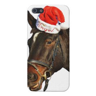 Horse santa - christmas horse - merry christmas iPhone 5/5S case