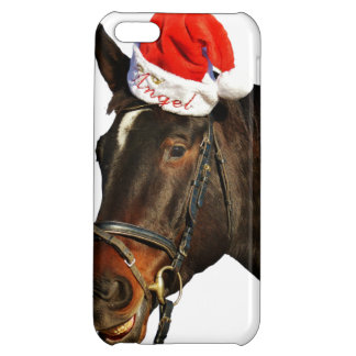 Horse santa - christmas horse - merry christmas iPhone 5C case