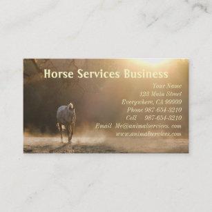 Horse business cards zazzle au horse serviceshorse veterinarian business cards colourmoves