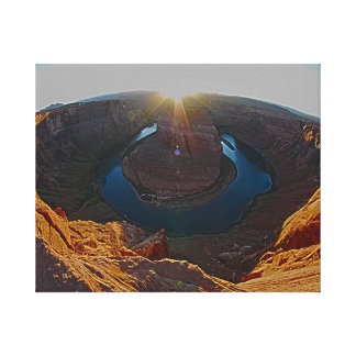 Horse Shoe Bend in Page, Arizona Canvas Print
