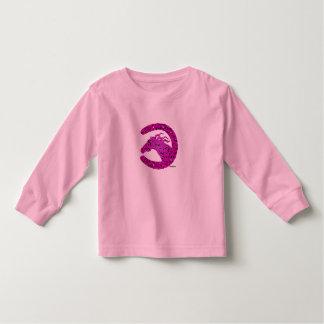 Horse Shoe Equestrian Toddler Shirt