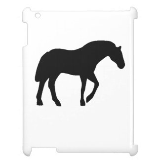 Horse Silhouette Cover For The iPad