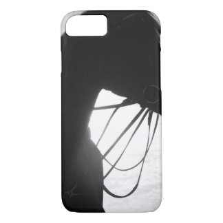 Horse Silhouette iPhone Case