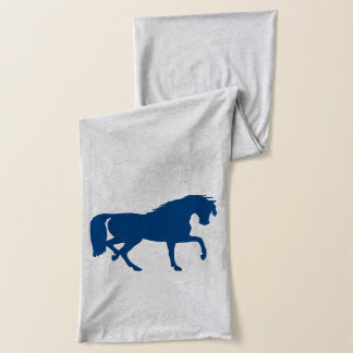 Horse Silhouette Scarf